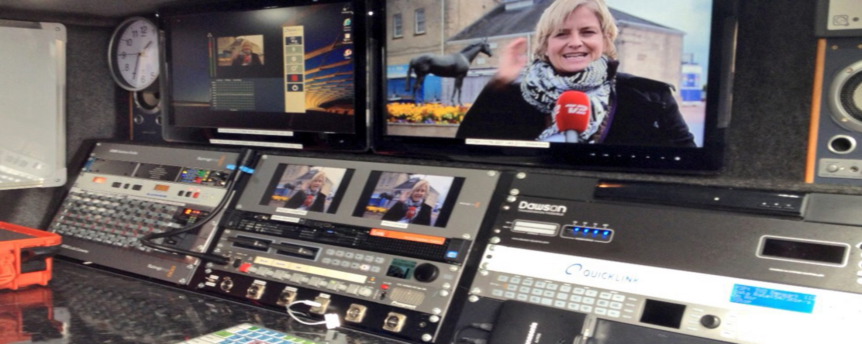 tv sng broadcast doncaster elections