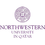 Northwestern University in Qatar logo